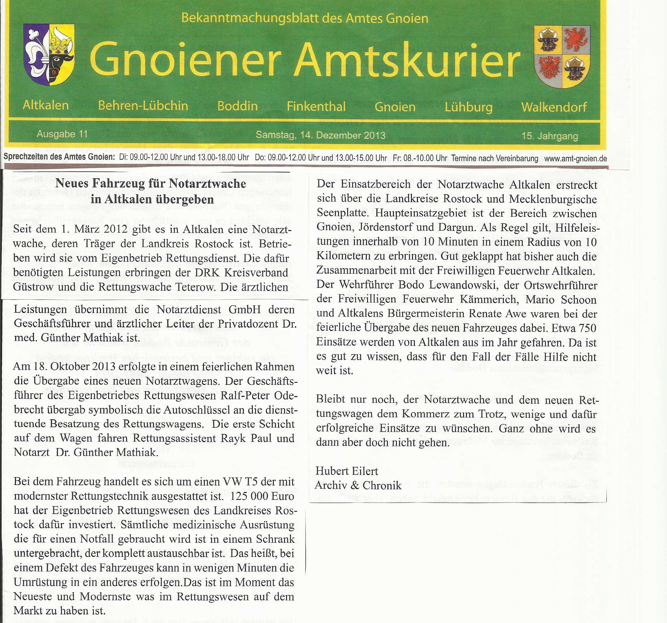 Artikel-Gnoien-Amtsblatt-neues-NEF-Altkalen-11-2013